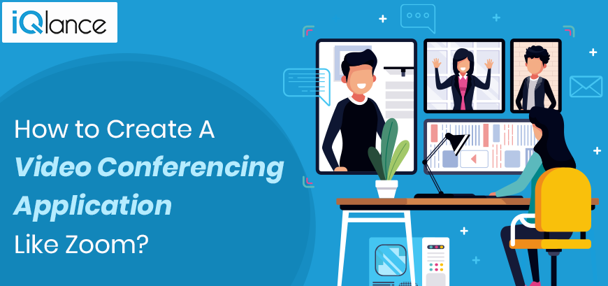 video conferencing application like Zoom