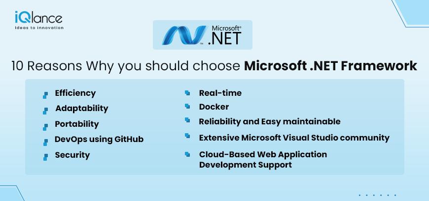 10 Reasons Why you should choose Microsoft .NET Framework